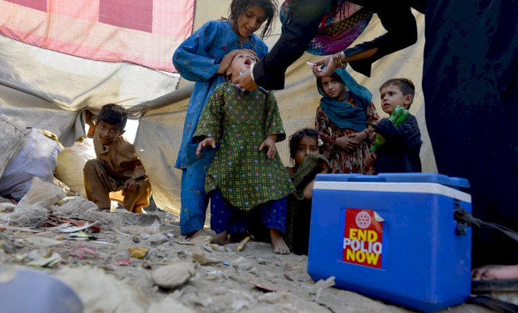 Polio Eradication Campaign Resumes In Pakistan From KPK