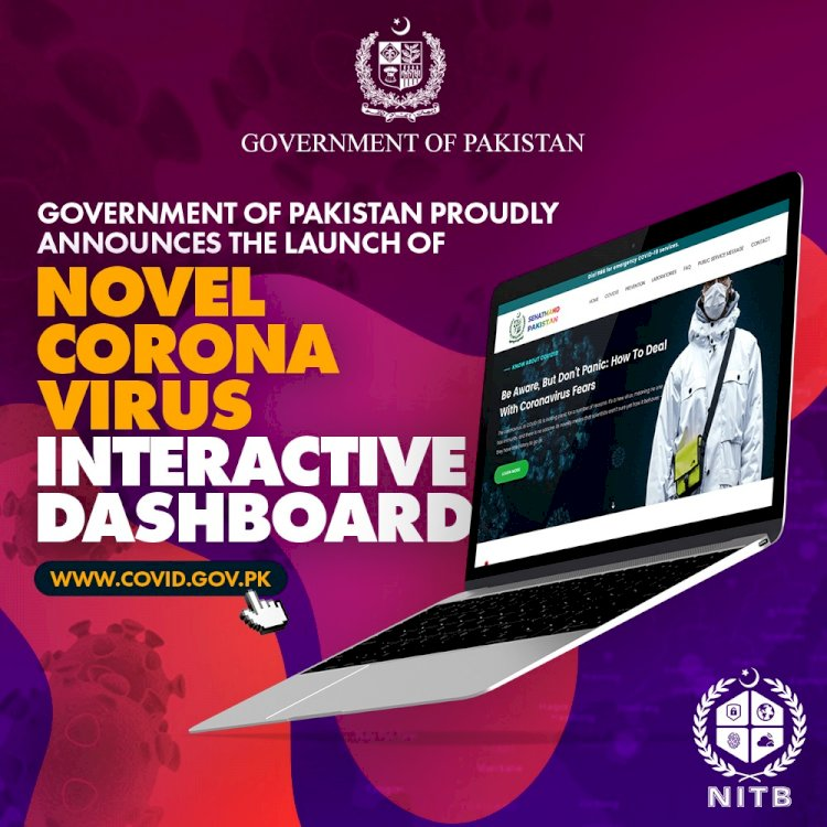 Pakistan Launches Official Coronavirus Information Platform.