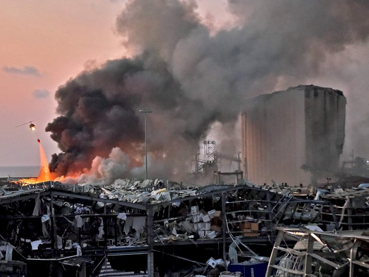 The Government Of Lebanon Resigns Amid Beirut Seaport Explosion Chaos