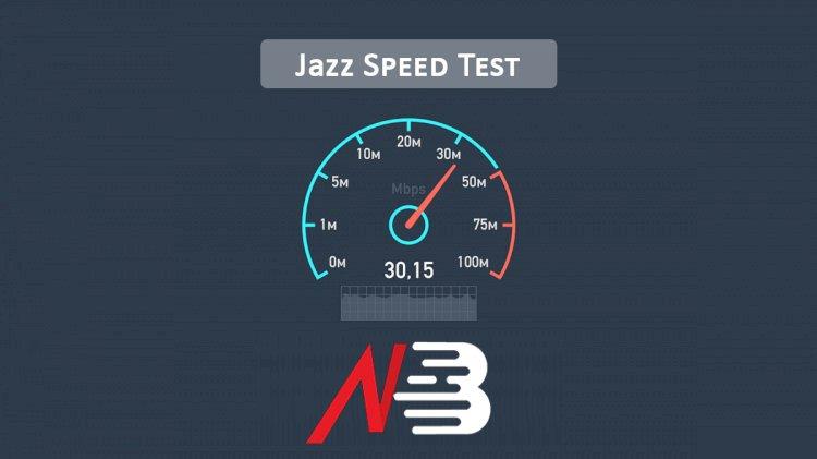 Jazz Speed Test (3G/4G)