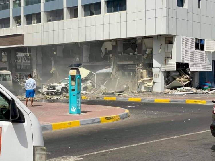 Blast In Abu Dhabi Leaves Several Injured
