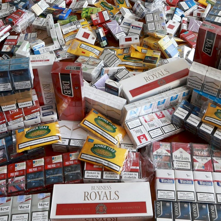 50 Cartons Of Illegal Cigarettes Worth 1.54 Million  Found