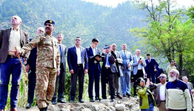 Foreign Diplomats Visiting LoC To Get Briefing By ISPR