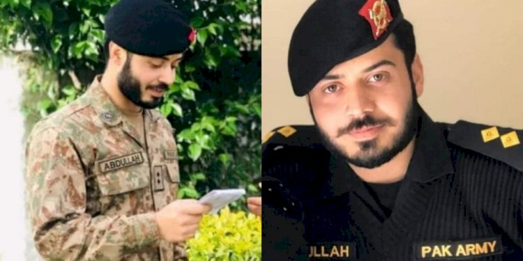 Army Officer Martyred In A Terrorist Attack