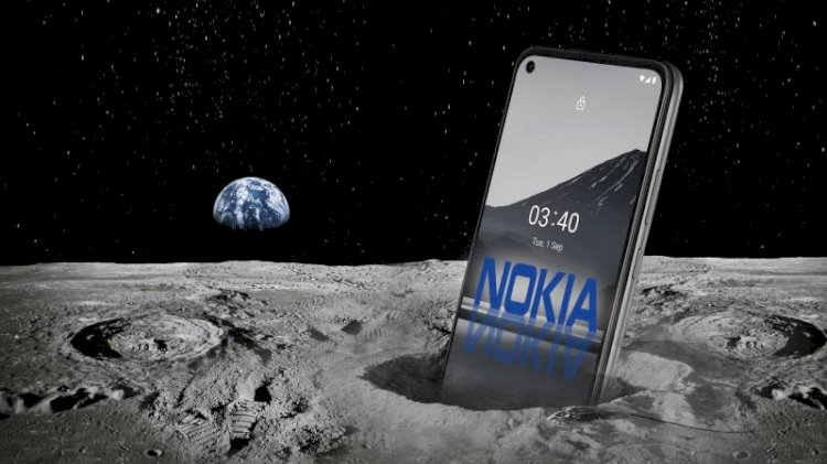 4G On The Moon