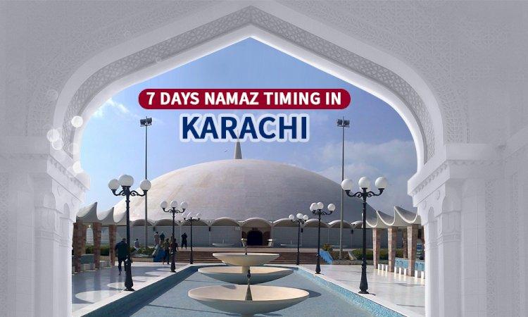 Namaz Timings In Karachi & Adjacent Areas