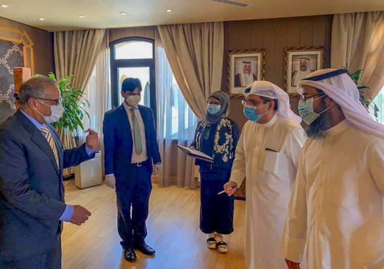 208 Pakistani Medical Professionals Reached Kuwait