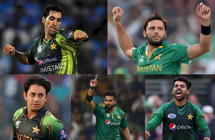 5 Pakistanis in ICC All-Time T20I  Bowling Ranking