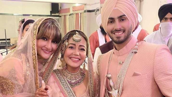 Neha Has Finally Tied The Knot With Rohanpreet
