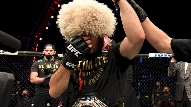 Khabib Retires  From MMA With a 29-0 Record