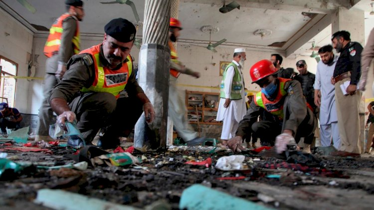 Blast At Jamia Zuberia Madrassa In Peshawar
