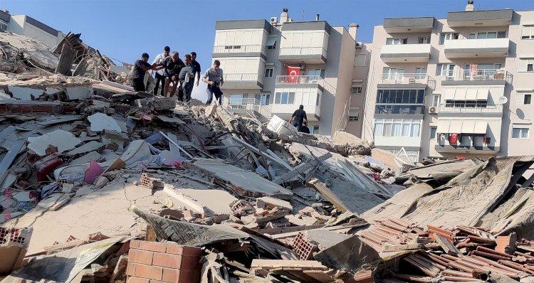 Earthquake Of Magnitude 7 Hit Turkey & Greece