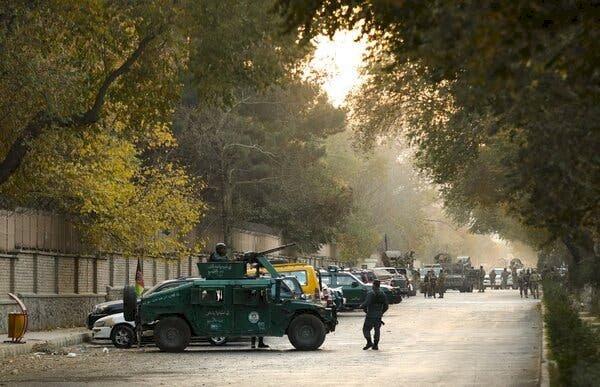 One More Attack At Kabul University