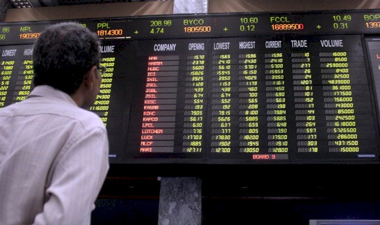 KSE-100 Falls By 857 Points Due To Lockdown Fear