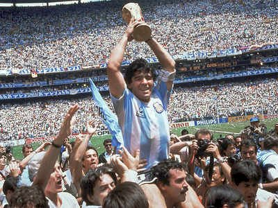 Football Legend Maradona Passed Away
