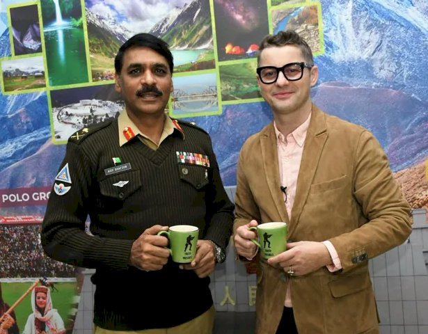 Akcent Congratulates Asif Ghafoor On Promotion To Lt General