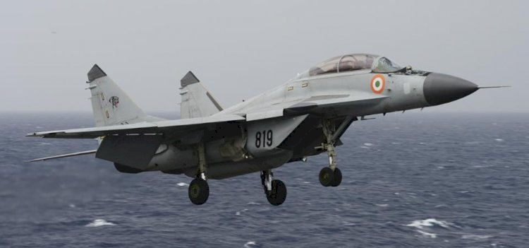Indian Navy Trainer Aircraft, MiG-29K Crashed Into The Arabian Sea