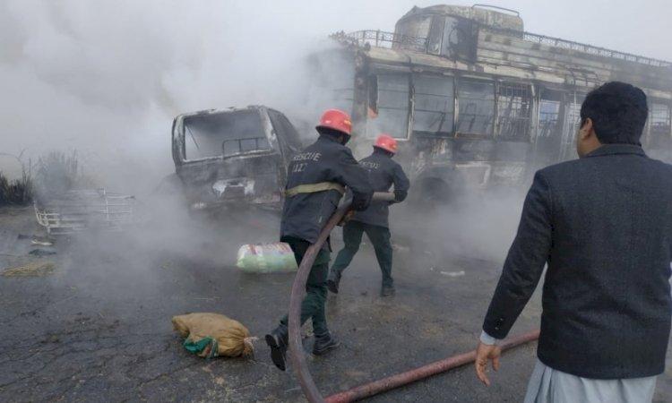 Deadly Clash Between Bus And a Van, Kills 13