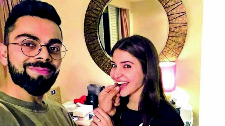 Anushka Sharma Performs Yoga Pose With Virat Kohli's Support