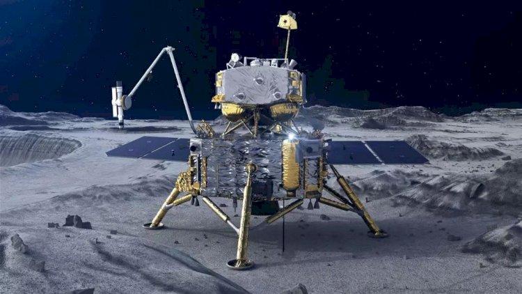 China's Chang'e-5 Makes Successful Landing On Moon