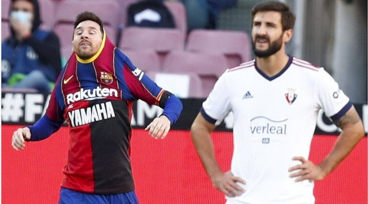 Barcelona And Messi Fined For Tribute To Maradona