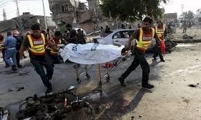 Blast In Rawalpindi Near Ganjmandi Police Station