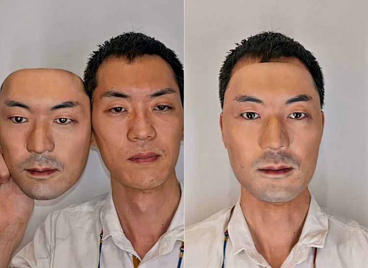 Wear Another Person's Face Hyper-Realistic Mask Hits Tokyo