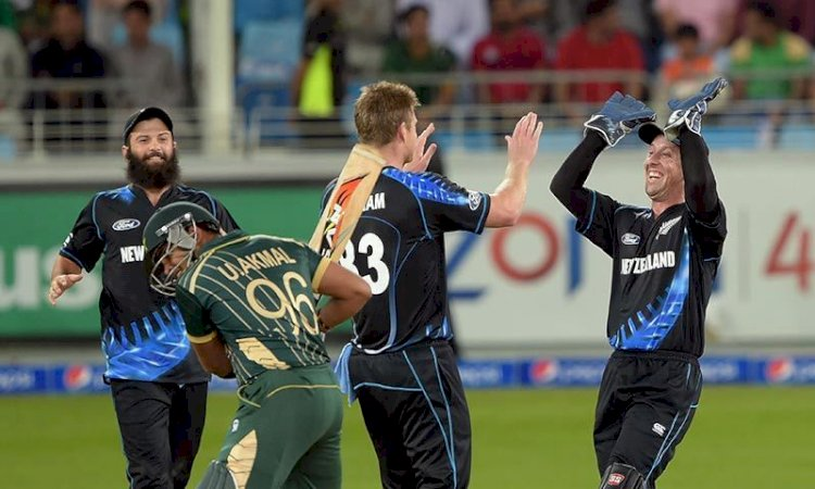 New Zealand Beats Pakistan In First T20 Match At Auckland