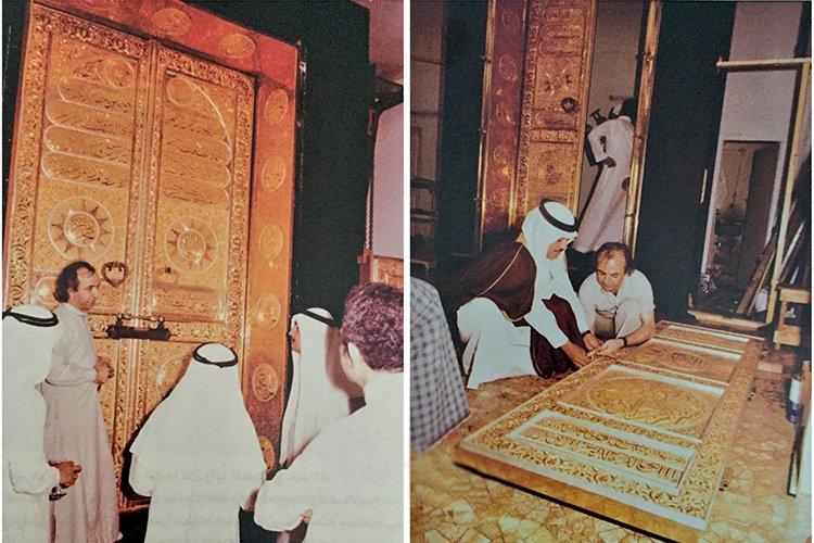 The Designer Of Kaaba Door Muneer Al Jundi Passed Away