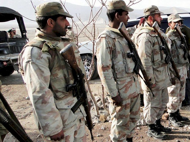 In An Attack 7 Soldiers Have Martyred In Shahrag Balochistan