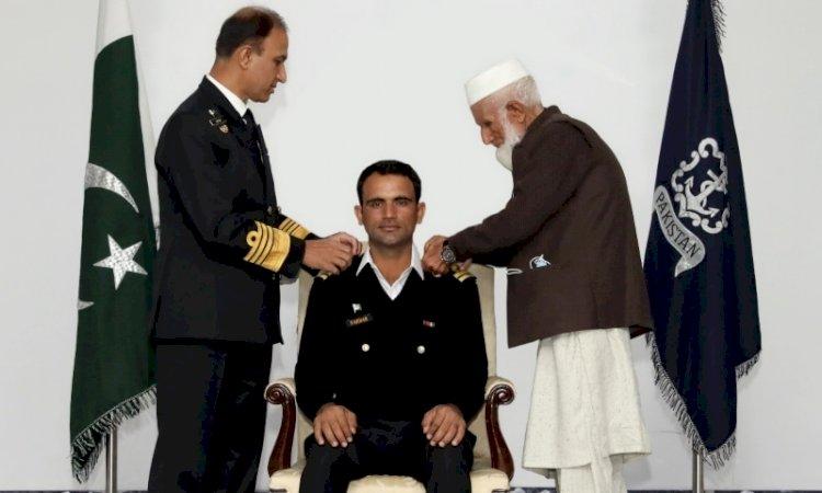 Fakhar Zaman Receives Honorary Rank Of Lieutenant From Navy