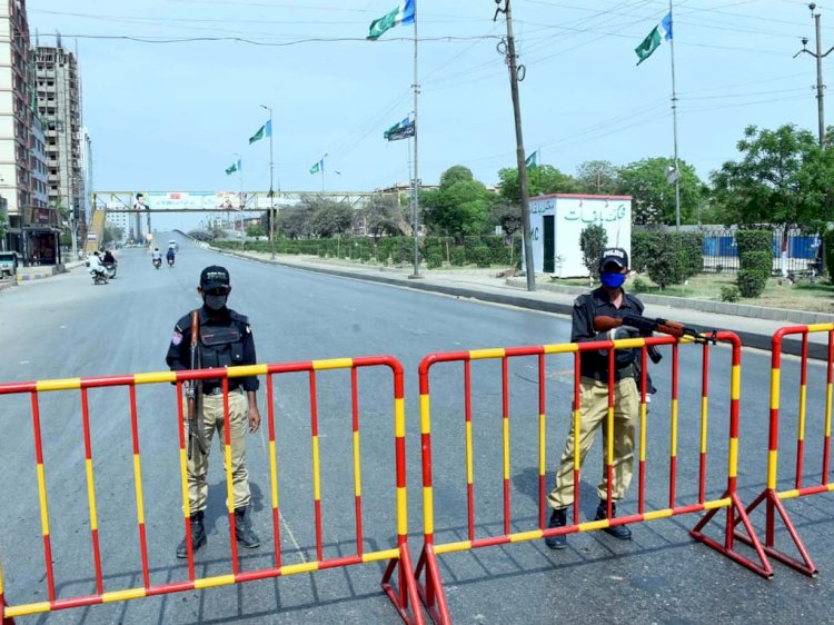 Micro Smart Lockdown Imposed In Areas Of Korangi For 2 Weeks