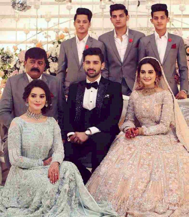 Aiman & Minal Khan's Father Passed Away In Karachi