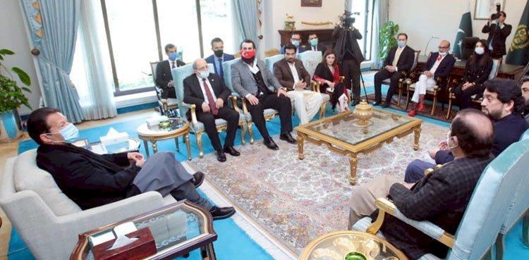 Ertugrul Founding Team Meet Pm Imran Khan