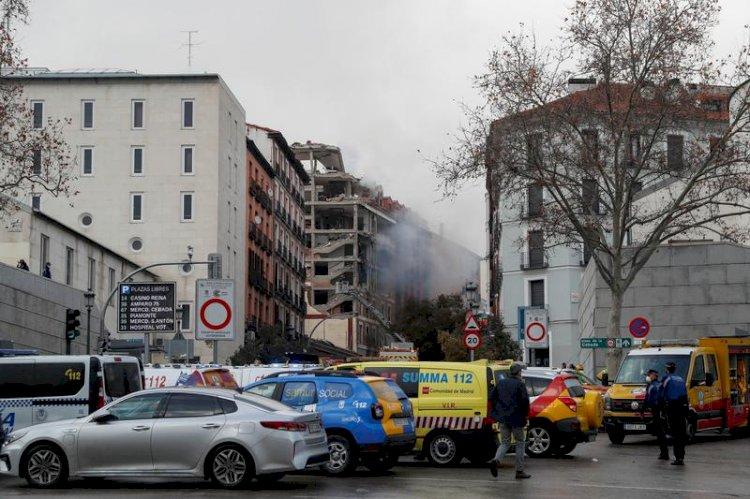 Madrid blast leaves two dead, several injured