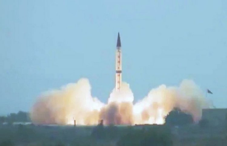 Pakistan Army Successfully Test Shaheen- III Missile System