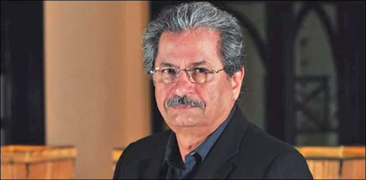 Universities Can Only Decide About Online Exam: Shafqat Mahmood