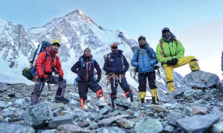 Nepali Climbers Return Home On Top Of The World After K2 Triumph