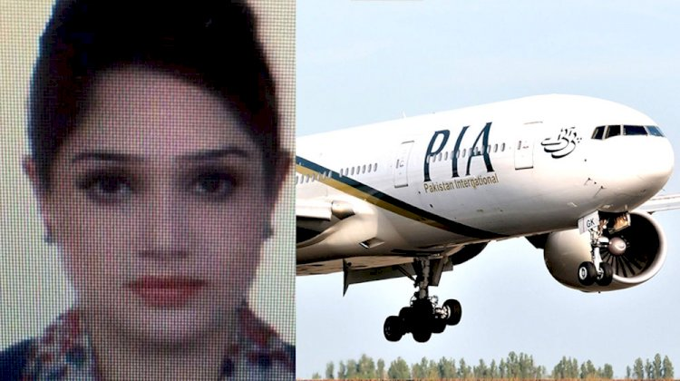Another PIA Air Hostess Is Missing In Canada