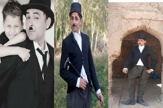 'Pakistani Charlie Chaplin' From Peshawar Aims To Bring Smiles To People's Faces