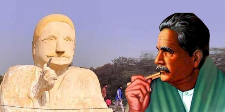 Allama Iqbal Sculpture Removed From Lahore Park After Criticism On Social Media