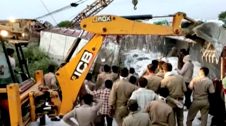 At Least 32 Lost Lives As Passenger Bus Falls Into Canal In India