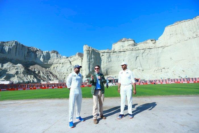 Gwadar Cricket Stadium Hosts Its First Match