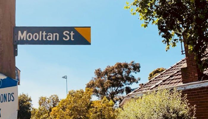 A street in Australia named after the Pakistani city of Multan