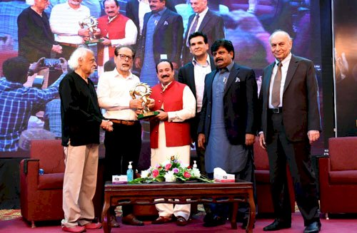 Rahat Fateh Ali Khan, the first Pakistani Musician awarded with the Lifetime Achievement Award