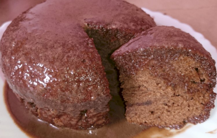 Delicious Chocolate Cake Without Oven and Butter Recipe