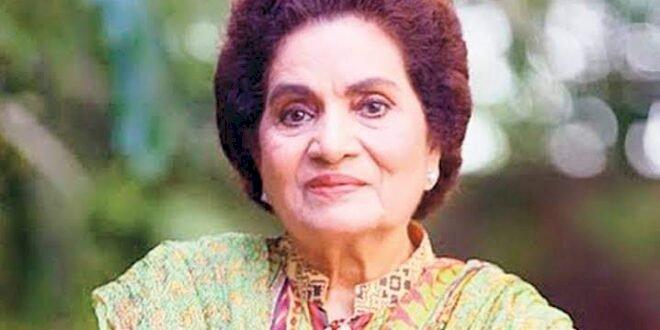 Haseena Moin, A Renowned Pakistani Dramatist Passes Away In Karachi.