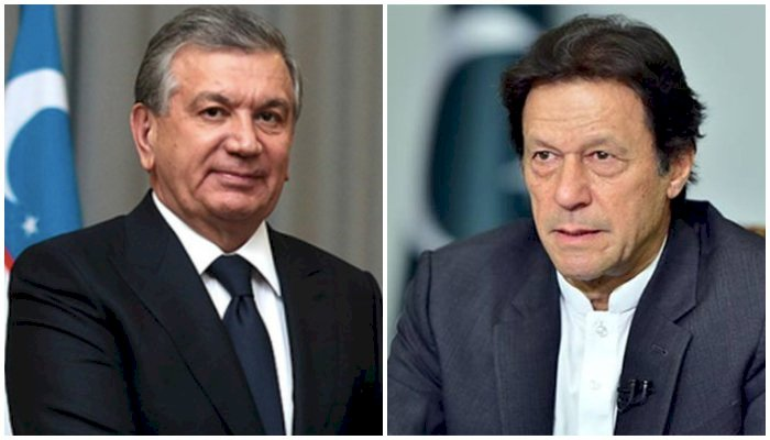 PM Imran Khan, Uzbekistan President Agree To Boost Bilateral Ties