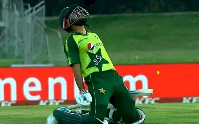 Babar Azam makes spectacular 122 runs against South Africa