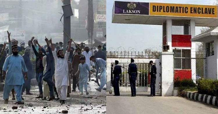 French Embassy Asks Its Citizens And Firms To Leave Pakistan